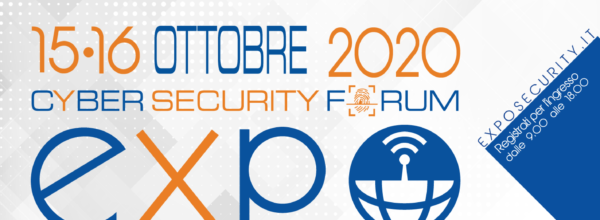 Assovalori è partner di EXPOSECURITY 2020